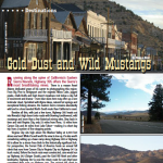 Airstream magazine_Gold Dust & Mustangs